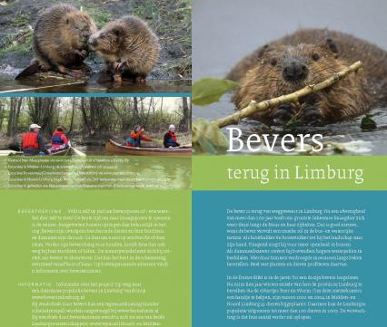 Folder Bevers terug in Limburg