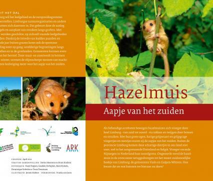 Folder Hazelmuis Aapje van het Zuiden