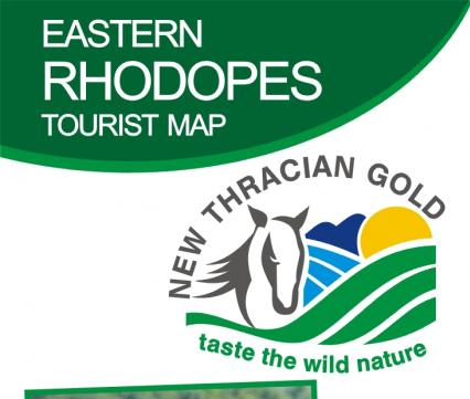 Kaart Eastern Rhodopes Tourist Map
