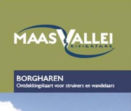 Kaart RivierPark Maasvallei
