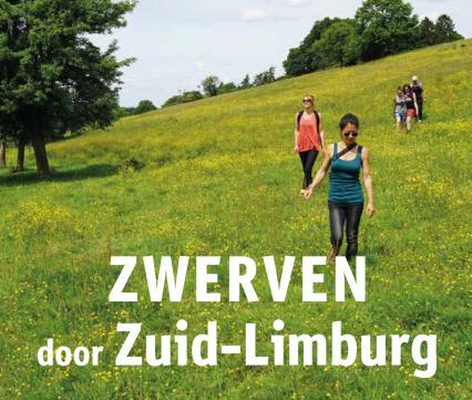 Kaart Zwerven door Zuid-Limburg