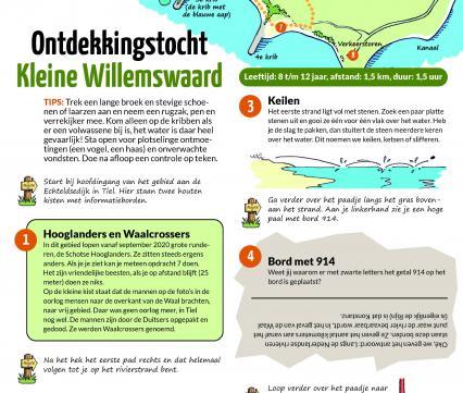 Ontdekkingstocht Kleine Willemswaard