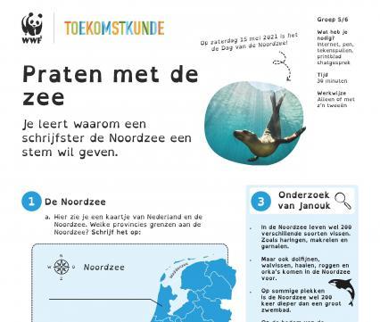 Toekomstkunde - Praten met de zee