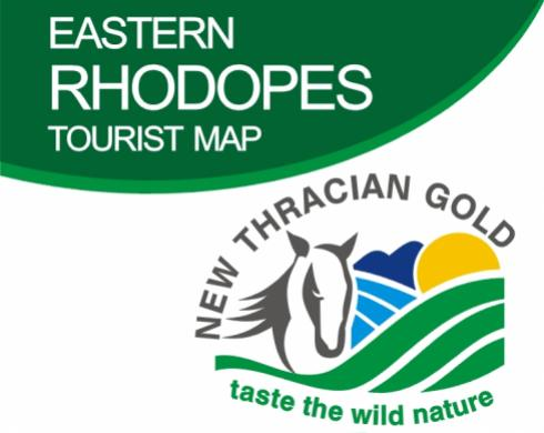 Kaart Eastern Rhodopes Tourist Map